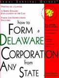How to Form a Delaware Corporation from Any State, Mark Warda, 1572481005