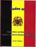 Index of Belgian Orders and Decorations Awarded to US Service Members for Service During World War II, , 1932891013