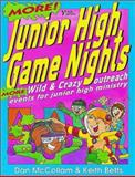 More Junior High Game Nights, Keith Betts and Dan McCollam, 0310541018