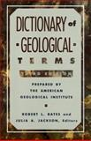 Dictionary of Geological Terms, American Geological Institute Staff, 0385181019