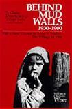 Behind Mud Walls, 1930-1960 9780520021013