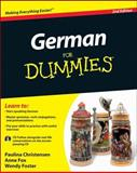 German for Dummies®, Paulina Christensen and Anne Fox, 0470901012