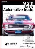 Math for the Automotive Trade, Peterson, John C. and deKryger, William J., 1418031011