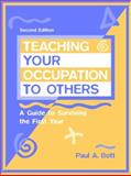 Teaching Your Occupation to Others 9780205271016