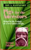 Pigs for the Ancestors : Ritual in the Ecology of a New Guinea People, Rappaport, Roy A., 157766101X