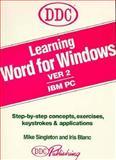 Learning Word 7 for Windows, Mike Singleton, Iris Blanc, 1562431021