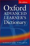 Advanced Learner's Dictionary, A. S. Hornby, 0194001024