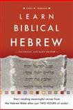 Learn Biblical Hebrew, Dobson, John H., 0801031028