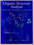 Organic Structure Analysis, Crews, Phillip and Jaspars, Marcel, 0195101022