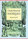 Madrigals, Claudio Monteverdi, 0486251020