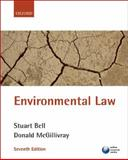 Environmental Law, Bell, Stuart and McGillivray, Donald, 0199211027