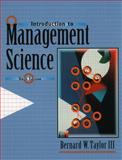 Introduction to Management Science 9780139181030