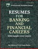 Resumes for Banking and Financial Careers, VGM Career Books Staff, 0658011030