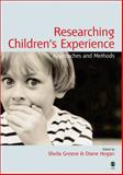 Researching Children's Experience 9780761971030