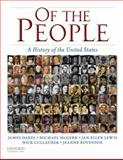 Of the People Vol. 1 : A History of the United States, 1450-1877, Oakes, James and Boydston, Jeanne, 0195371038