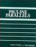 Pauline Parallels, Fred O. Francis and J. Paul Sampley, 0800621034