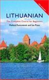 Colloquial Lithuanian, Ian Press and Meilute Ramoniene, 0415121035