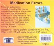 Medication Errors, Daniel Farb, 1594911045