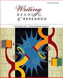 Writing, Reading, and Research, Veit, Richard and Gould, Christopher, 0547191049