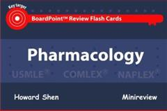 BoardPoint Review Flash Cards : Pharmacology, Shen, Howard, 1595411046