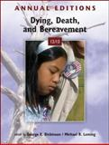 Dying, Death, and Bereavement 12/13, Dickinson, George and Leming, Michael, 0078051053