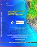 Recent Researches in Energy, Environment and Sustainable Development : (edute '12), (res '12), (epese '12),(wwai '12), (meptepse '12), (fiaac '12),, 1618041053