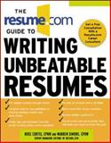 The Resume.com Guide to Writing Unbeatable Resumes, Simons, Warren and Curtis, Rose, 0071411054
