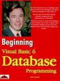 Visual Basic 6 Database Programming, Connell, John, 1861001061