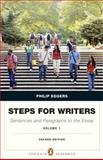 Steps for Writers : Sentence and Paragraph to the Essay, Eggers, Phillip, 0321851064