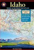 Idaho Road and Recreation Atlas, Benchmark Maps, 0929591062