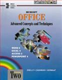 Microsoft Office : Advanced Concepts and Techniques, Shelly, Gary B. and Cashman, Thomas J., 0789501066