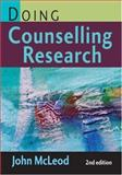 Doing Counselling Research, McLeod, John, 076194107X