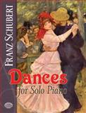 Dances for Solo Piano, Franz Schubert, 0486261077