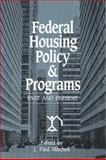 Federal Housing Policy and Programs 9780882851075