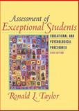 Assessment of Exceptional Students : Educational and Psychological Procedures, Taylor, Ronald L., 0205351077