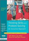 Thinking Skills and Problem-Solving - An Inclusive Approach, Belle Wallace and June Maker, 1843121077
