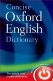 Concise Oxford English Dictionary, Oxford Dictionaries, 0199601089