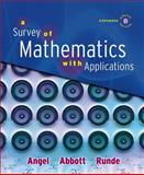 A Survey of Mathematics with Applications, Angel, Allen R. and Abbott, Christine D., 032150108X