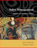 Sales Management : Analysis and Decision Making, Ingram, Thomas N. and LaForge, Raymond W., 0324191081