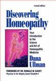 Discovering Homeopathy, Dana Ullman, 1556431082