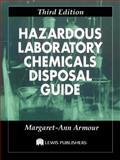 Hazardous Laboratory Chemicals Disposal Guide 9781566701082