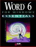 Word 6 for Windows Essentials, Acklen, Laura, 0789701081