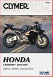 Honda CBR600RR 2003-2006, Clymer Publications Staff, 1599691086