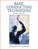 Basic Conducting Techniques, Labuta, Joseph A., 0131121081