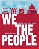 We the People : An Introduction to American Politics, Ginsberg, Benjamin and Weir, Margaret, 0393921093
