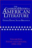 The Cambridge History of American Literature : Poetry and Criticism, 1900-1950, Dubois, Andrew and Lentricchia, Frank, 0521301092