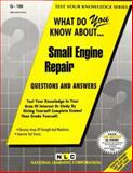 Small Engine Repair, Jack Rudman, 0837371090
