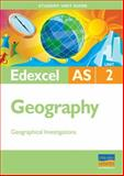 Edexcel AS Geography, Cameron Dunn and Sue Warn, 0340971096