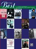 The Best in Country Sheet Music, Hal Leonard Corp., 0739041096