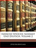 Indische Sprüche, Otto Von Böhtlingk, 1144611091